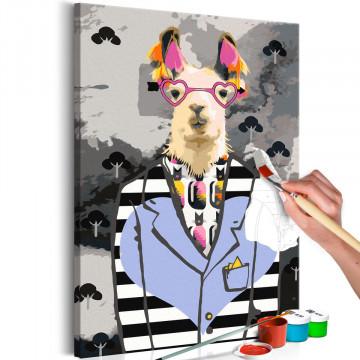 Pictatul pentru recreere - Crazy Alpaca