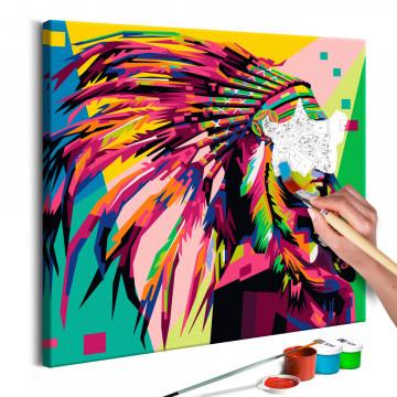 Pictatul pentru recreere - Native American (Plume)