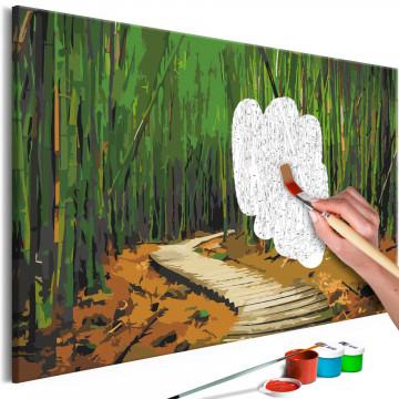 Pictatul pentru recreere - Wooden Path
