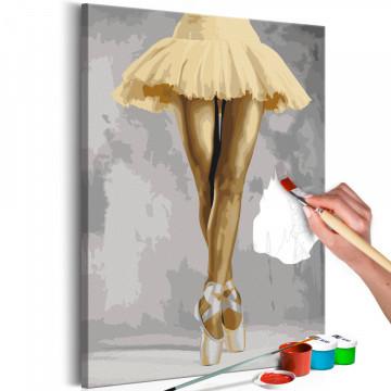 Pictatul pentru recreere - Yellow Ballerina