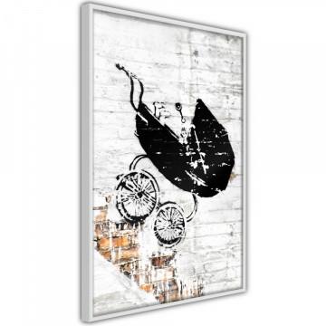 Poster - Banksy: Baby Stroller
