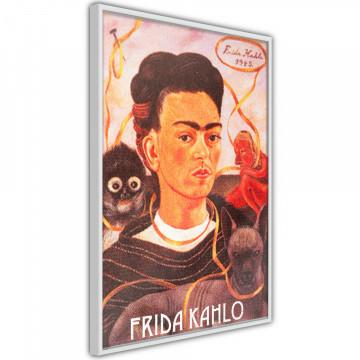 Poster - Frida Khalo – Self-Portrait