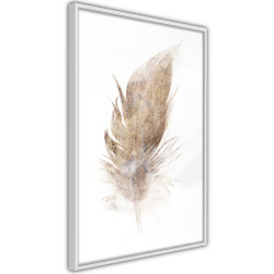 Poster - Lost Feather (Beige)