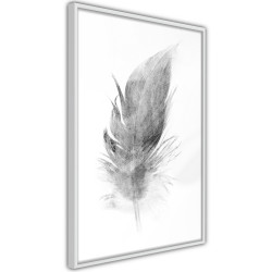 Poster - Lost Feather (Grey)