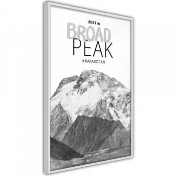 Poster - Peaks of the World: Broad Peak