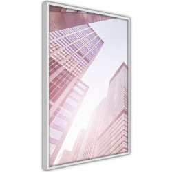 Poster - Steel and Glass (Pink)