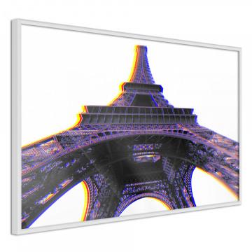 Poster - Symbol of Paris (Purple)