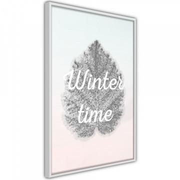 Poster - Winter Leaf