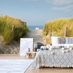 Sand Dune Path To The Beach Coastal Photo Wallpaper Wall Mural