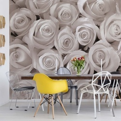 Sepia Roses Photo Wallpaper Wall Mural