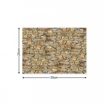 Stone Walls Canvas Photo Print