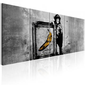 Tablou - Banksy: Monkey with Frame