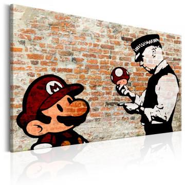 Tablou - Banksy: Police Caution