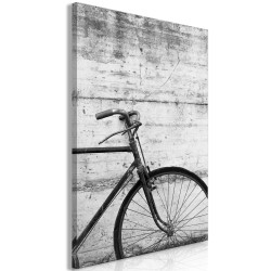 Tablou - Bicycle And Concrete (1 Part) Vertical