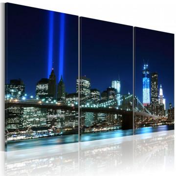 Tablou - Blue lights in New York