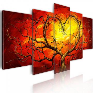 Tablou - Burning heart