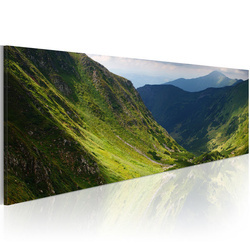 Tablou - Canvas print - In the valley of the mountain