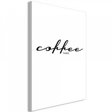 Tablou - Coffee Times (1 Part) Vertical