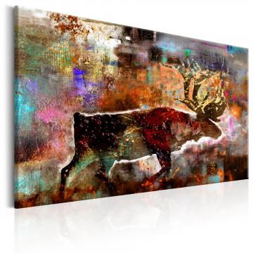 Tablou - Colourful Caribou