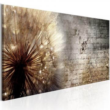 Tablou - Dandelion on Concrete
