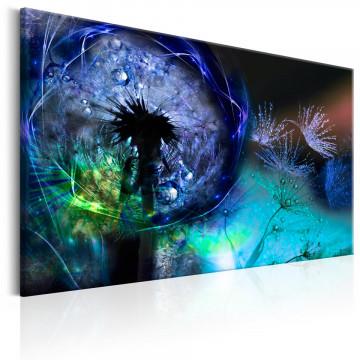 Tablou - Dandelions: Blue Glow