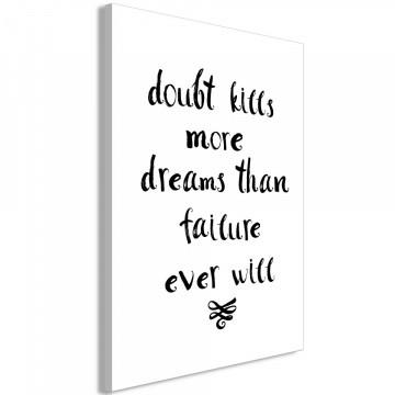 Tablou - Doubts and Dreams (1 Part) Vertical