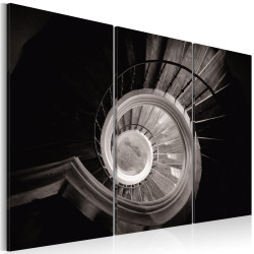 Tablou - Down a spiral staircase