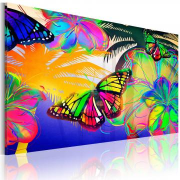 Tablou - Exotic butterflies