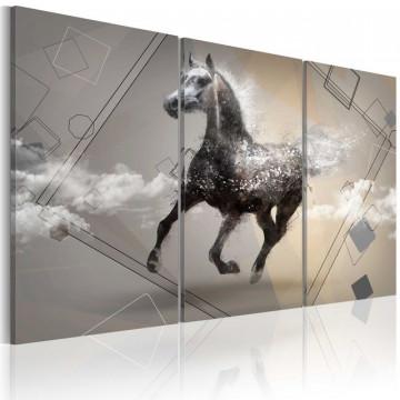 Tablou - Fancy gallop - triptych