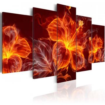 Tablou - Fiery Flowers