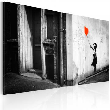 Tablou - Girl with balloon (Banksy)