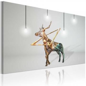 Tablou - Golden deer