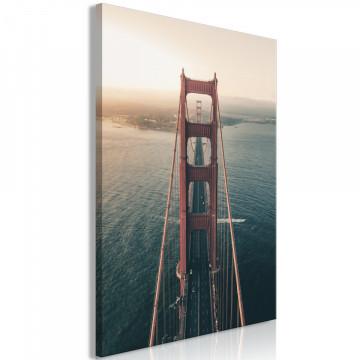 Tablou - Golden Gate Bridge (1 Part) Vertical