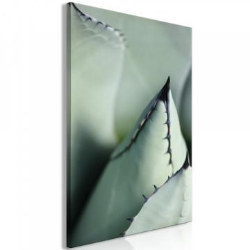Tablou - Green Spikes (1 Part) Vertical