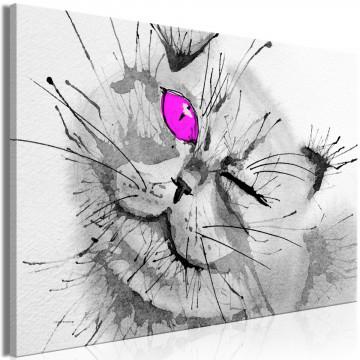 Tablou - Happy Look (1 Part) Wide Pink