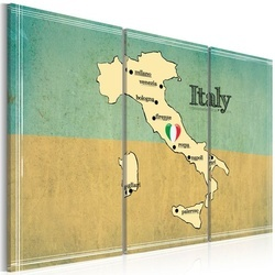 Tablou - Heart of Italy - triptych