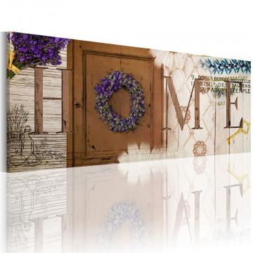 Tablou - Heather wreath