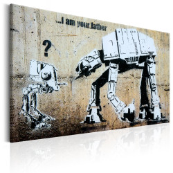 Tablou - I Am Your Father by Banksy