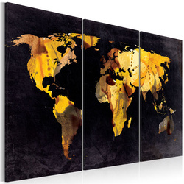 Tablou - If the World were a desert... - triptych