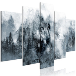 Tablou - Mountain Predator (5 Parts) Wide