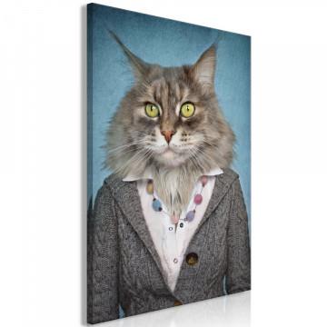 Tablou - Mrs. Cat (1 Part) Vertical