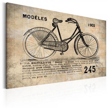 Tablou - N° 1245 - Bicyclette