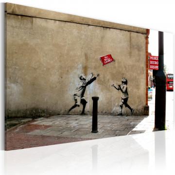 Tablou - No ball games (Banksy)