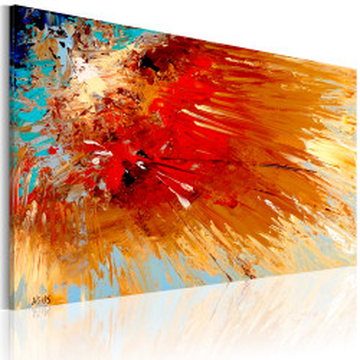 Tablou pictat manual - Explosion