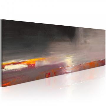 Tablou pictat manual - Foggy sea