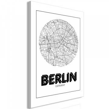 Tablou - Retro Berlin (1 Part) Vertical