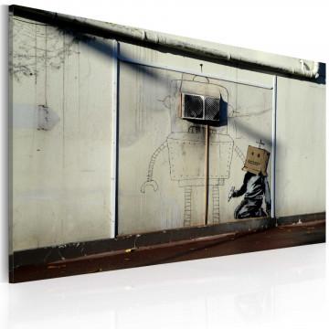 Tablou - Robots (Banksy)
