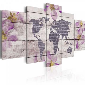 Tablou - Romantic World Map