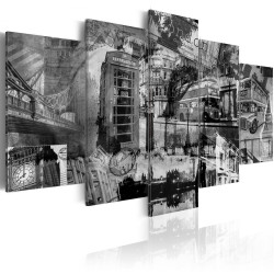 Tablou - The essence of London - 5 pieces