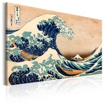 Tablou - The Great Wave off Kanagawa (Reproduction)